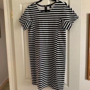 J. Crew small stripped dress